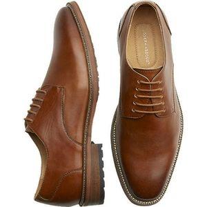 🔥Joseph Abboud Leather Plain Toe Oxford Shoes🔥